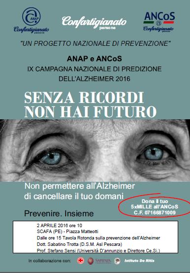 Giornata Nazionale della Prevenzione dell'Alzheimer