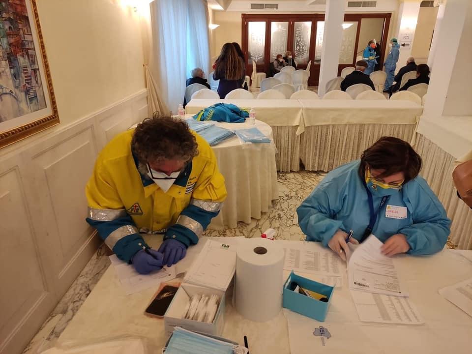 Seconda giornata per le Vaccinazioni COVID