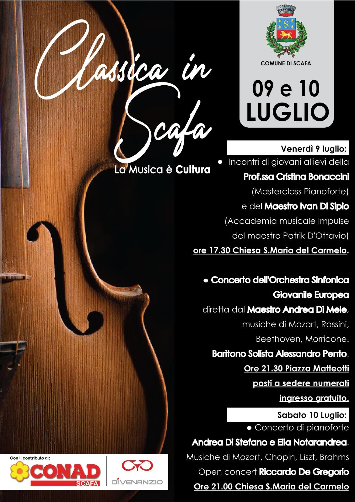 CLASSICA in SCAFA - La Musica � Cultura