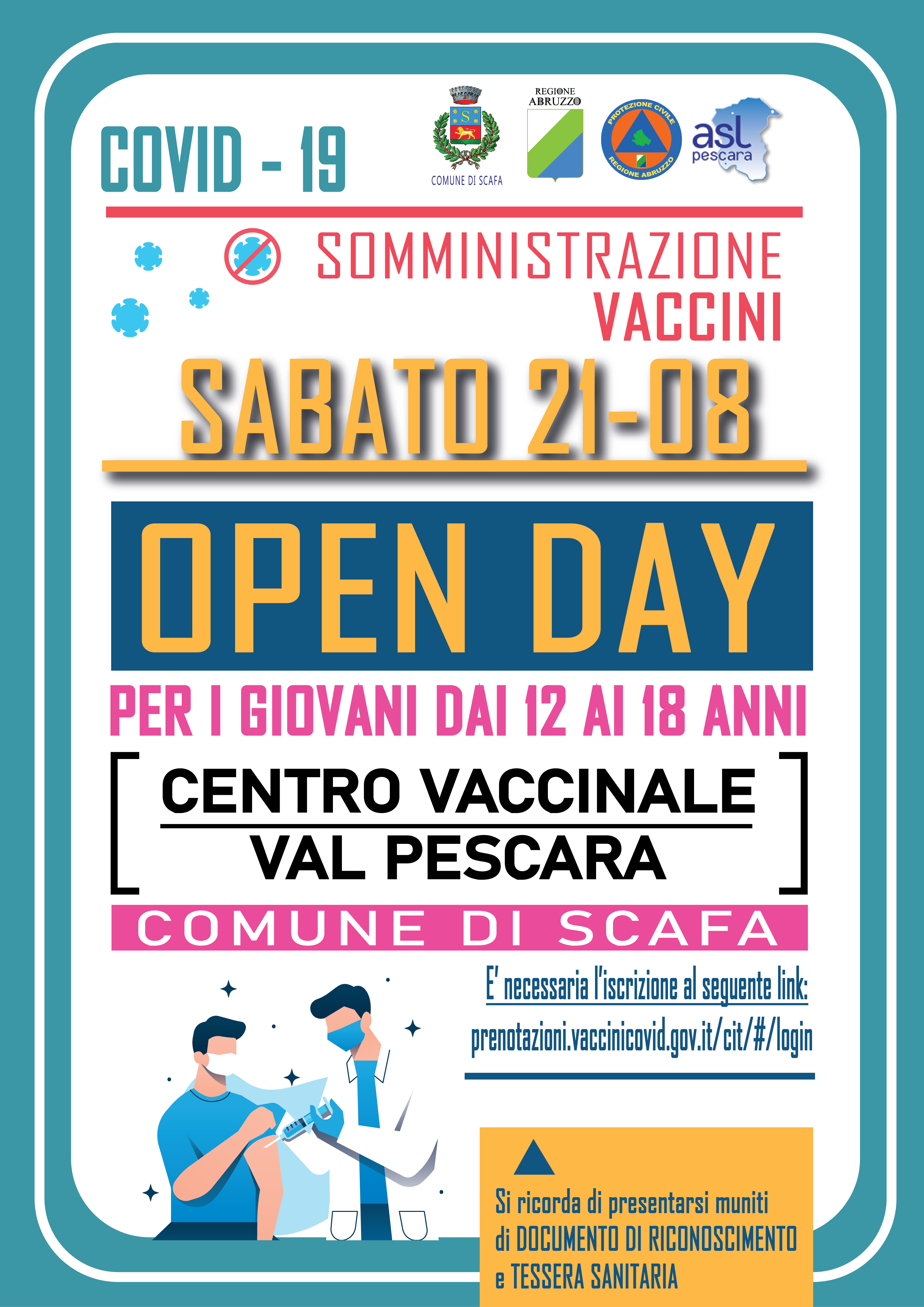 AVVISO OPEN DAY VACCINALE